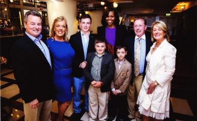 Michelle Obama visits Matt's